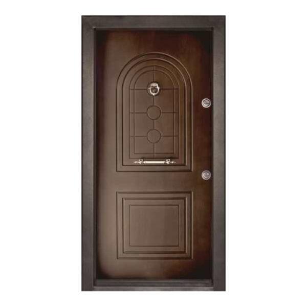 درب ضدسرقت دو قاب بالا گرد