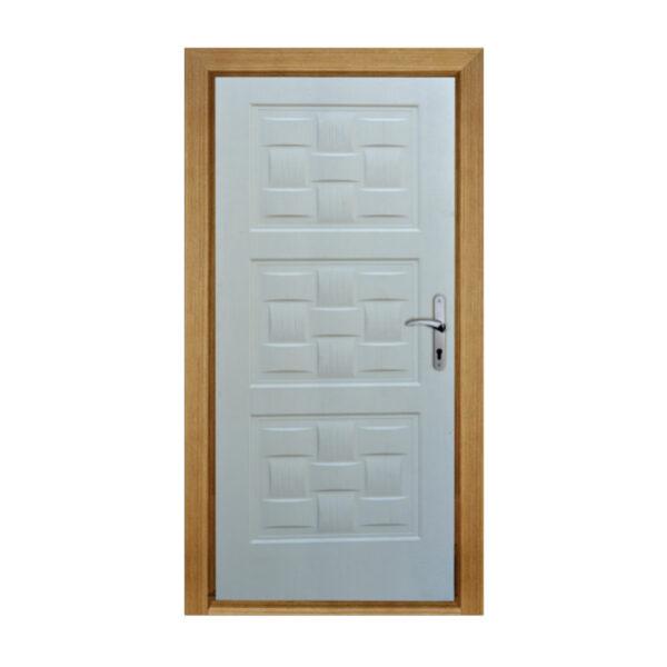 درب اتاقی HDF قاب حصیری