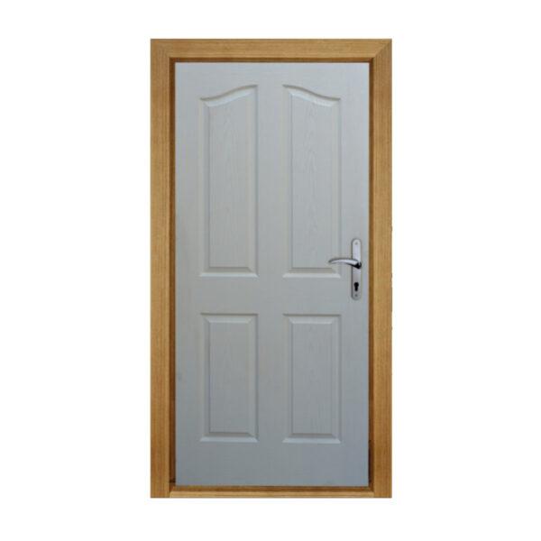درب اتاقی HDF چهار قاب ابرویی